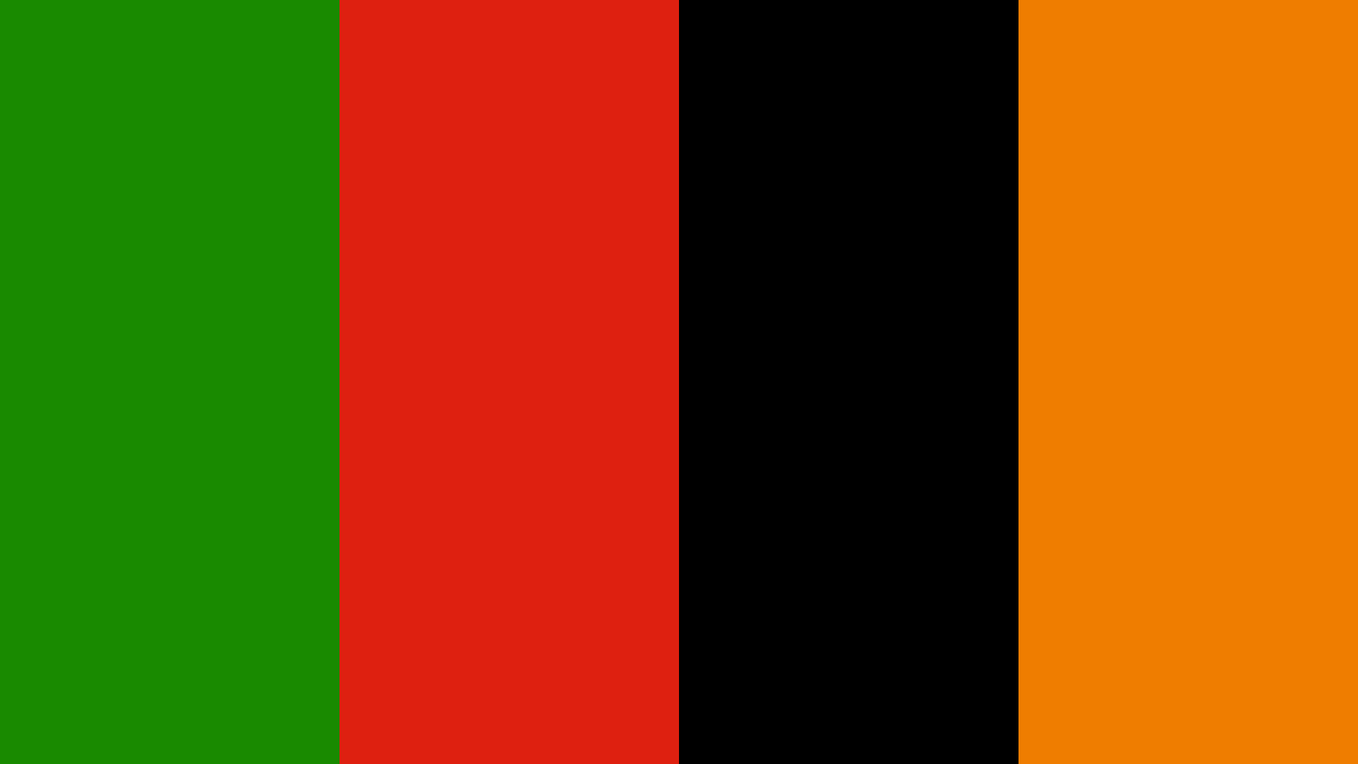 Zambia Flag Colors