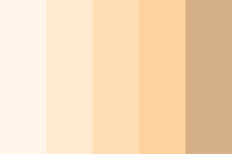 Zeru Skin Color Palette
